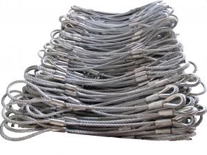 压制完的钢丝绳