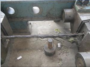 钢丝绳拉力测试